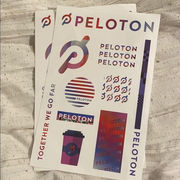 Peloton Other - Peloton stickers